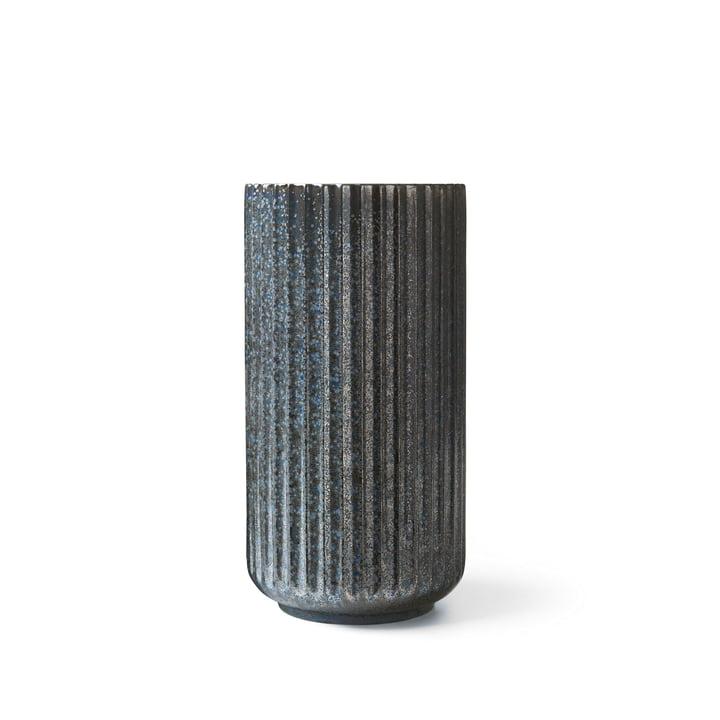 Vase Radiance H 15 cm de Lyngby Porcelæn en bleu