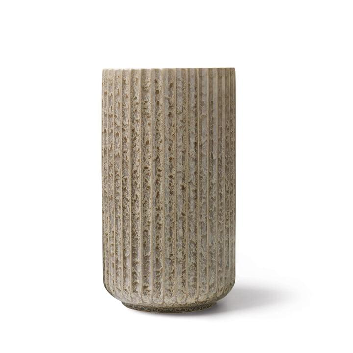 Vase Radiance H 20,5 cm de Lyngby Porcelæn en gris