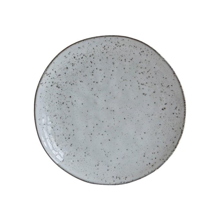 Assiette Rustic Ø 20,5 cm, gris-bleu par House Doctor