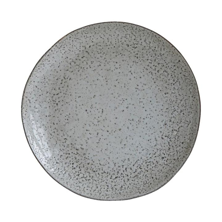 Assiette Rustic Ø 27,5 cm, gris-bleu par House Doctor