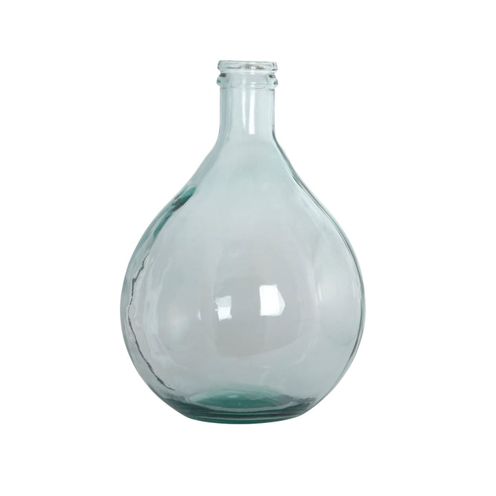 Vase Bouteille H 43 cm en vert par House Doctor