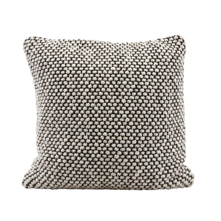 Milo oreiller Milo, 60 x 60 cm, noir / blanc par House Doctor