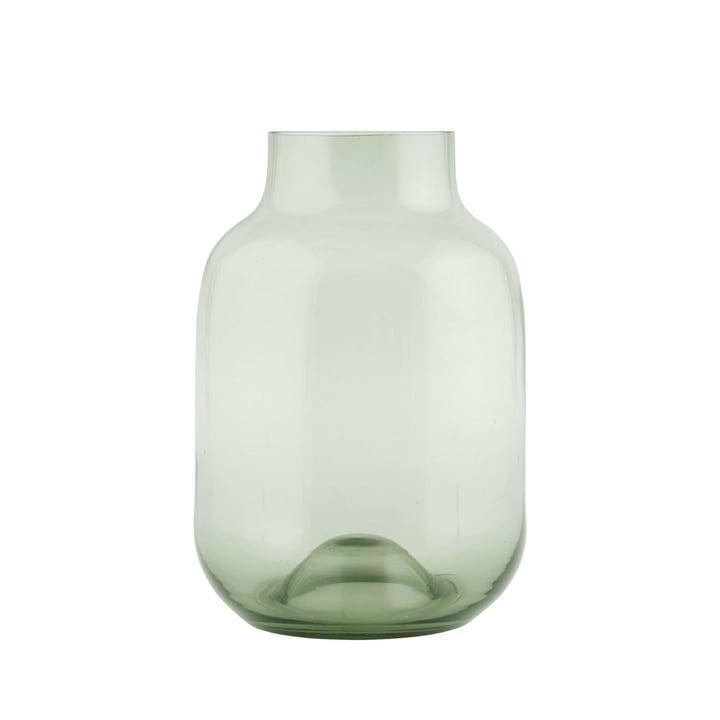 Vase en forme H 32 cm, vert par House Doctor