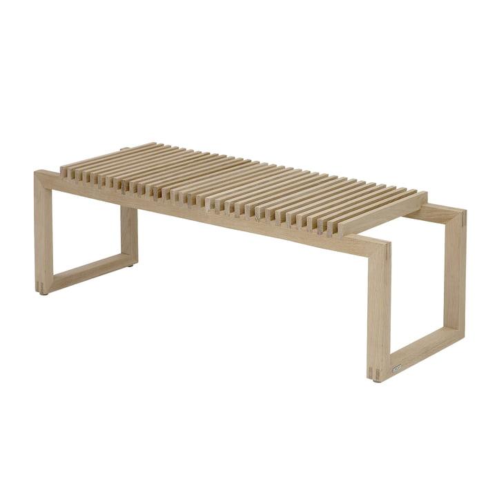 Cutter, banc de bois