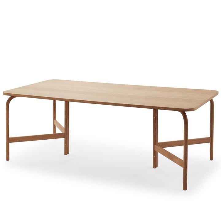 Table de salle à manger Aldus 200 × 100 cm de Skagerak en chêne huilé