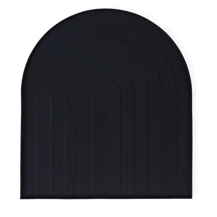 Tapis de drainage OYOY en noir