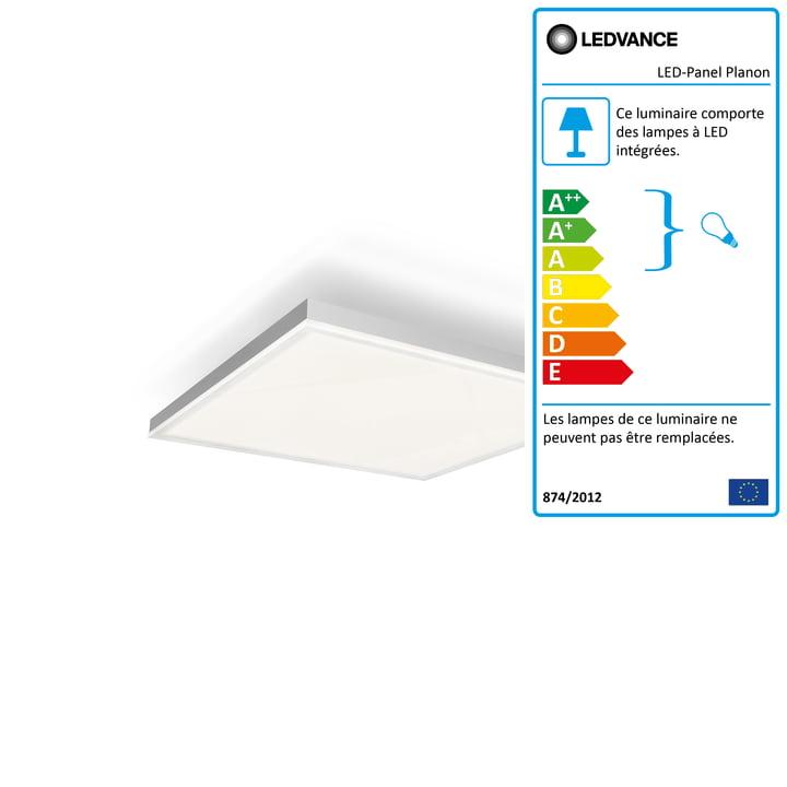 Panneau LED Planon Sans cadre, 300 x 300 mm de Ledvance