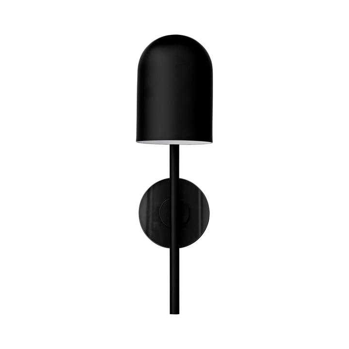 Applique Luceo, Ø 12 x H 45 cm, noir / transparent par AYTM