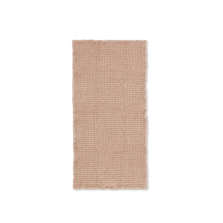 Serviette de bain biologique 100 x 50 cm de ferm. Living in antique pink