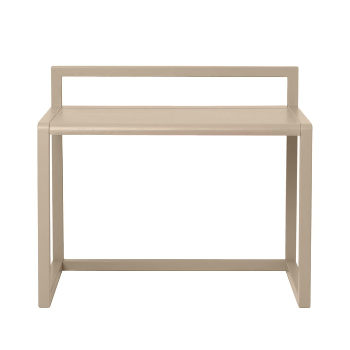 Petite table d'architecte de ferm Living in beige