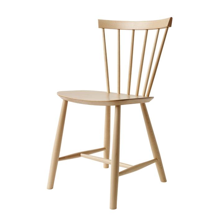J46 Chaise, hêtre naturel de FDB Møbler