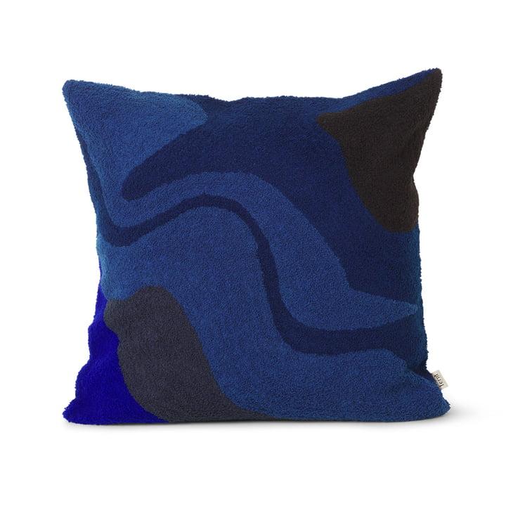 Coussin Vista 50 x 50 cm de ferm Living in dark blue