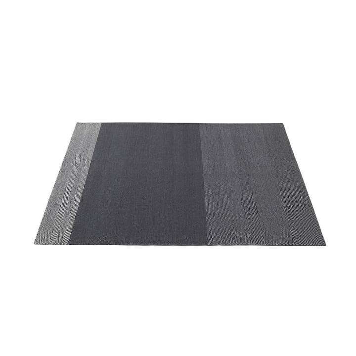Varjo Tapis 170 x 240 cm de Muuto en gris foncé