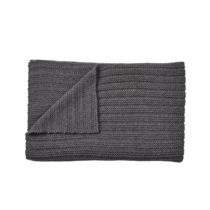 Tapis ample 160 x 130 cm de Muuto en gris foncé