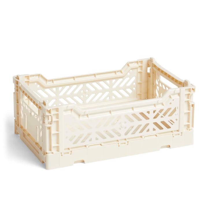 Hay - Colour Panier de caisse S, 26,5 x 17 cm, blanc cassé