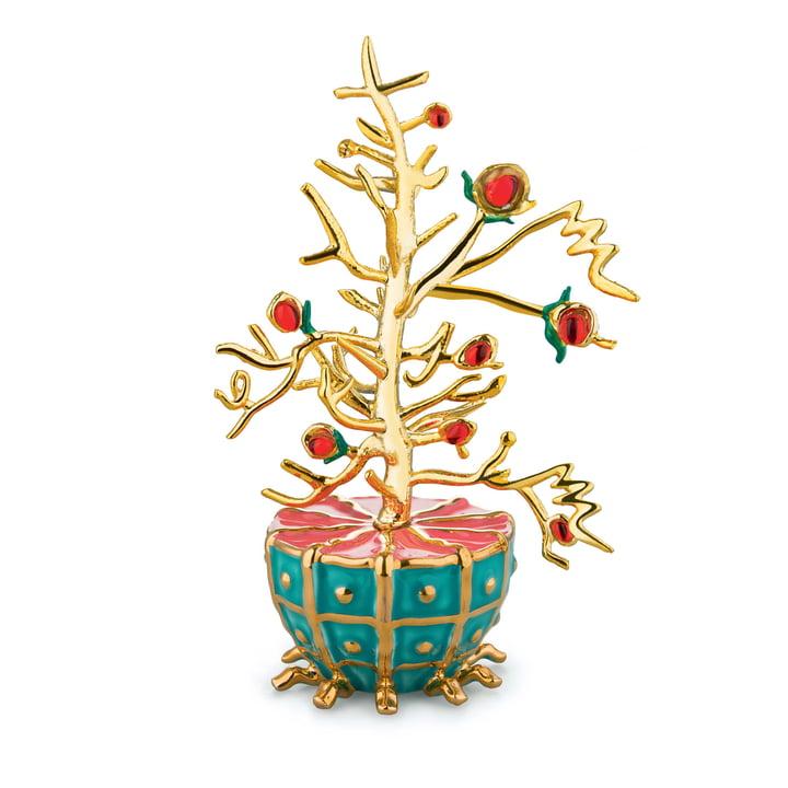 Décoration de Noël Fleurs De Jori L'Albero del Bene par Alessi