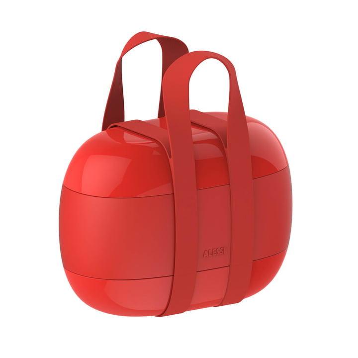 Nourriture à Porter boîte à lunch d'Alessi en rouge