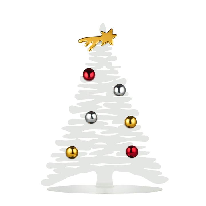 Écorce de Noël H 30 cm d'Alessi en blanc