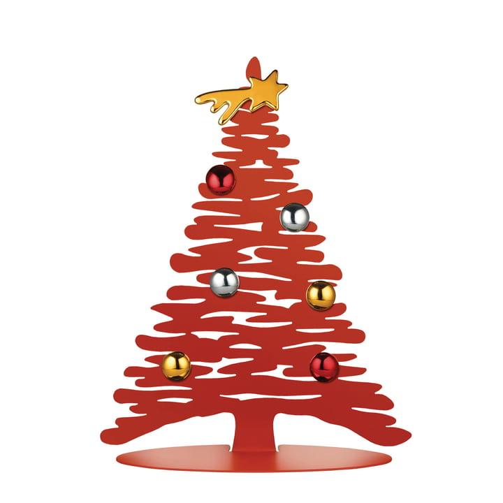 Ecorce de Noël H 30 cm d'Alessi en rouge