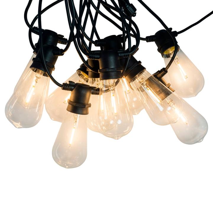 Chaîne lumineuse à LED pour l'intérieur et l'extérieur