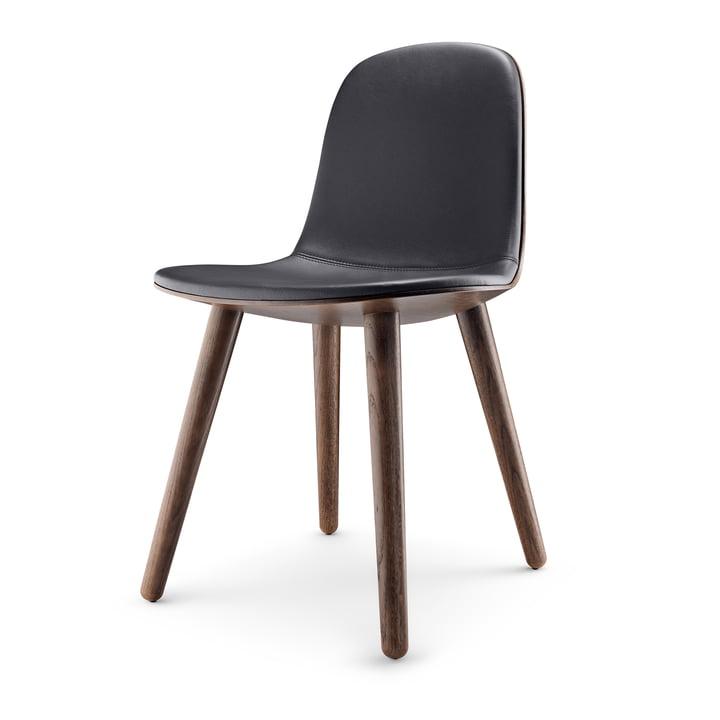 Abalone Chaise de salle à manger par Eva Solo en chêne fumé / noir