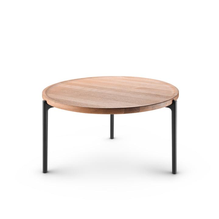 Table basse Savoye Ø 60 cm par Eva Solo en chêne naturel / noir