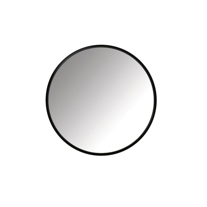 Miroir à moyeu Ø 45 cm de Umbra en noir