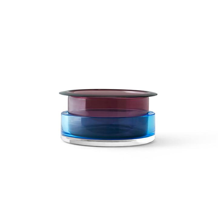 Vase Triecolore SH3 de & tradition en topaze / rubis