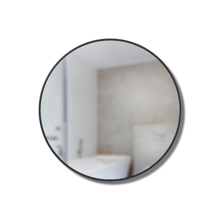 Etagère miroir Cirko Ø 20 cm d'Umbra en noir