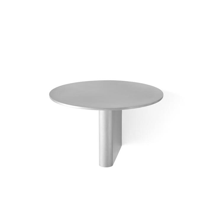 Etagère colonne JA1 Ø 25 cm de & tradition en aluminium