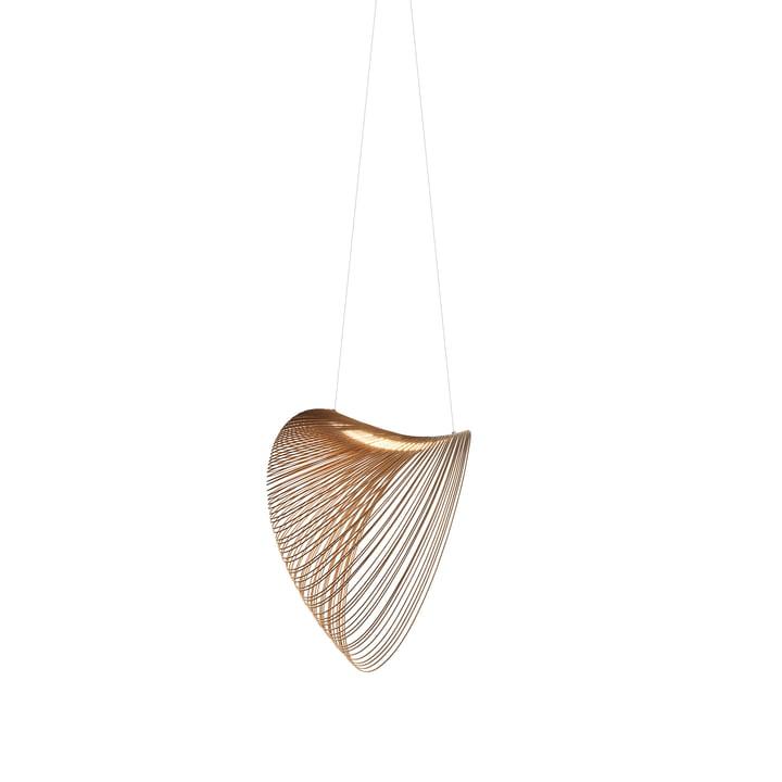 Luminaire suspendu LED Illan de Luceplan en bouleau