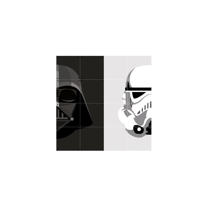 Stormtrooper / Dark Vador 80 x 80 cm de IXXI