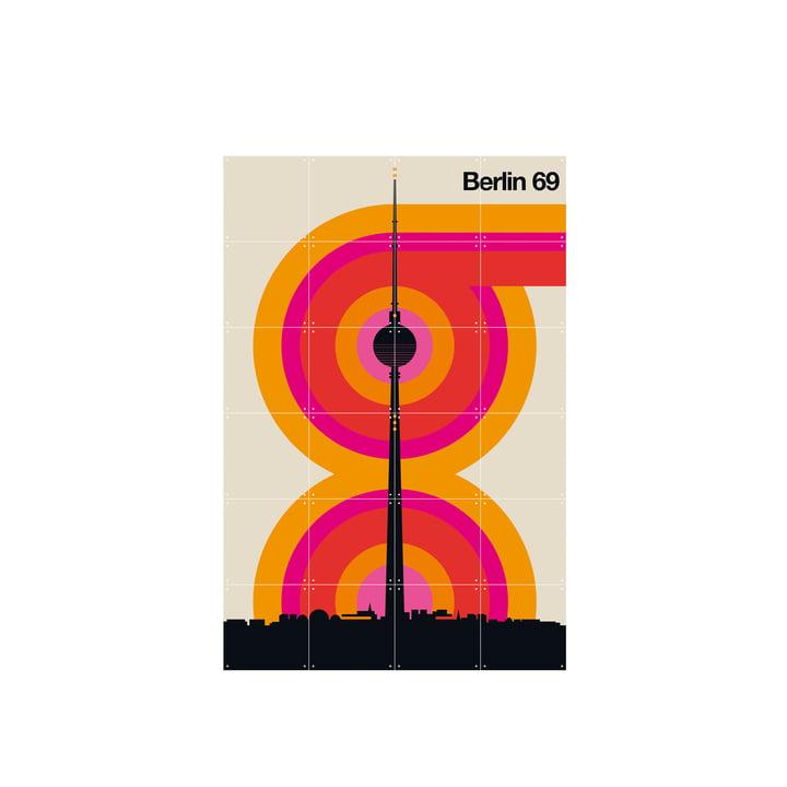 Berlin 69 (Bo Lundberg) 80 x 120 cm de IXXI