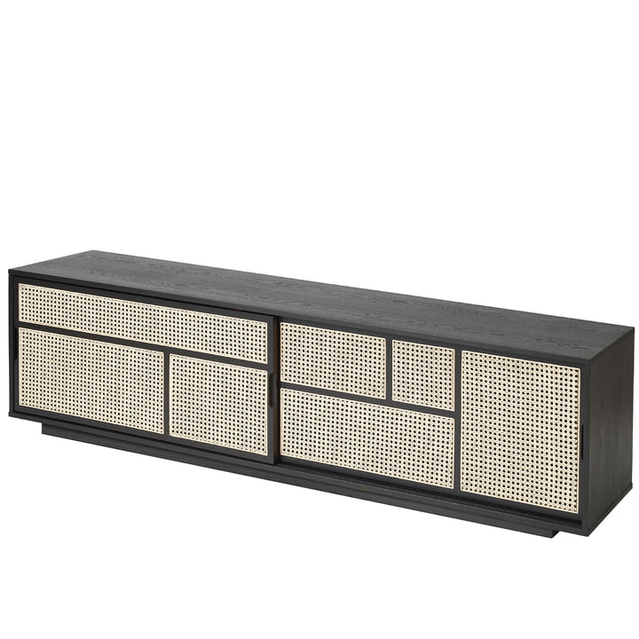 Air Sideboard / Console TV de Design House Stockholm en noir