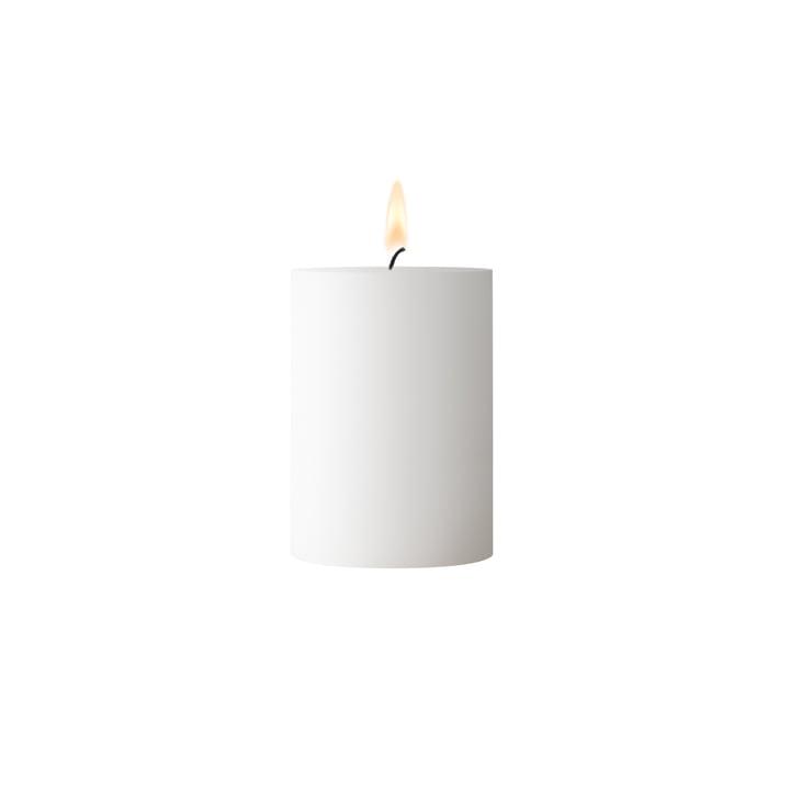 Bougie pilier blanche hauteur 7 cm