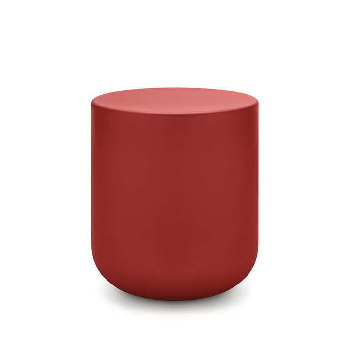 157 Table basse Ø 45 x H 50 cm freestyle rouge corail (RAL 3016)