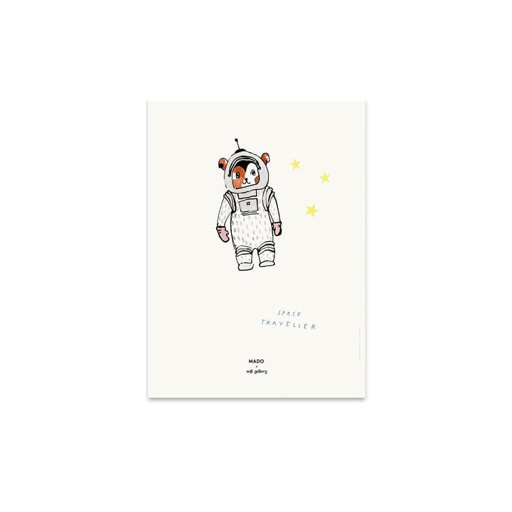 Space Traveller 30 x 40 cm de Paper Collective