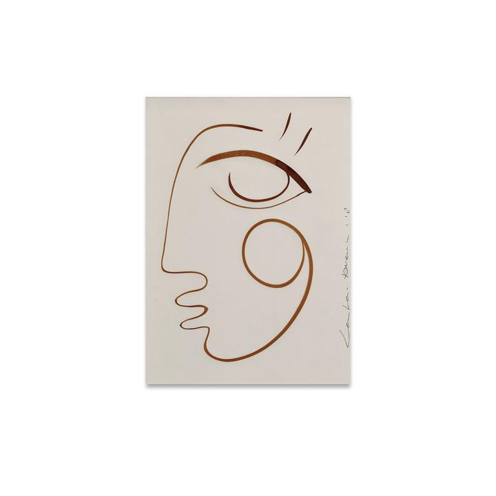 Plein d'Amour 30 x 40 cm du Collectif Papier