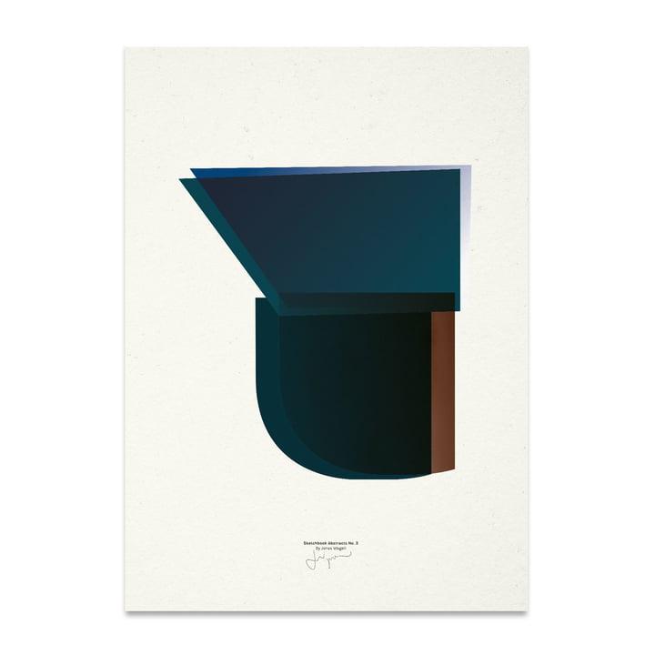 Sketchbook Abstracts 03 50 x 70 cm de Paper Collective