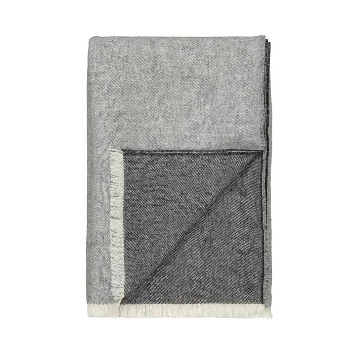 Couverture Venise, blanc / gris par Elvang
