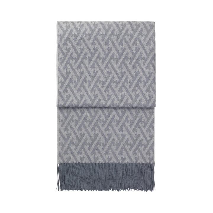 Superbe couverture, gris bleu / gris par Elvang