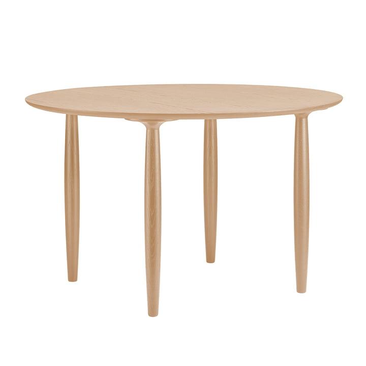 Oku table à manger Ø 120 cm de Norr11 en chêne nature