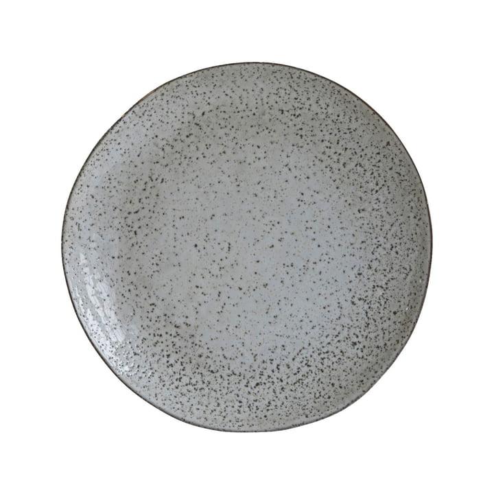 Assiette profonde Rustic, Ø 25 x H 5 cm, gris-bleu par House Doctor