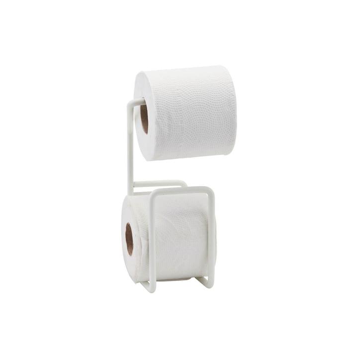 Par l'intermédiaire d'un porte-papier hygiénique, blanc par House Doctor