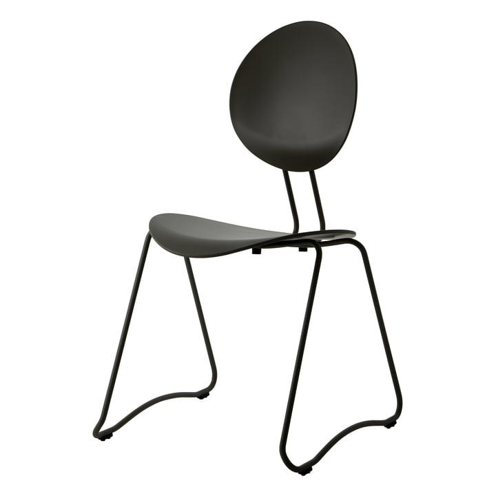Fauteuil Flex, RAL 9011 noir par Verpan