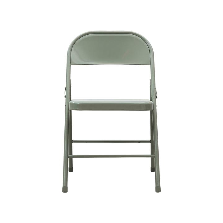 Chaise pliante Fold It, vert armée par House Doctor