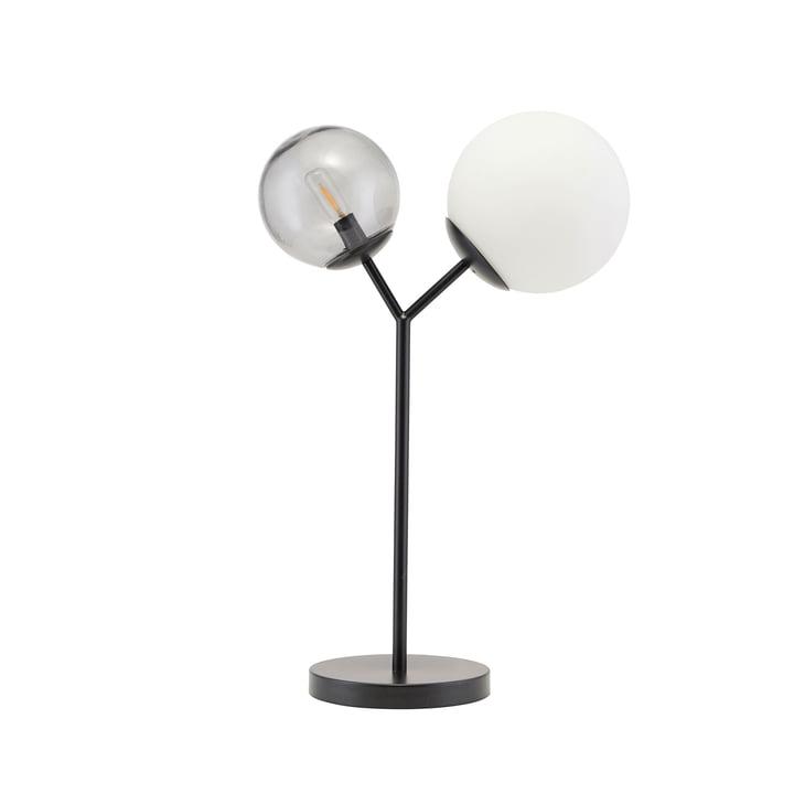 Lampe de table Twice H 42 cm par House Doctor en noir