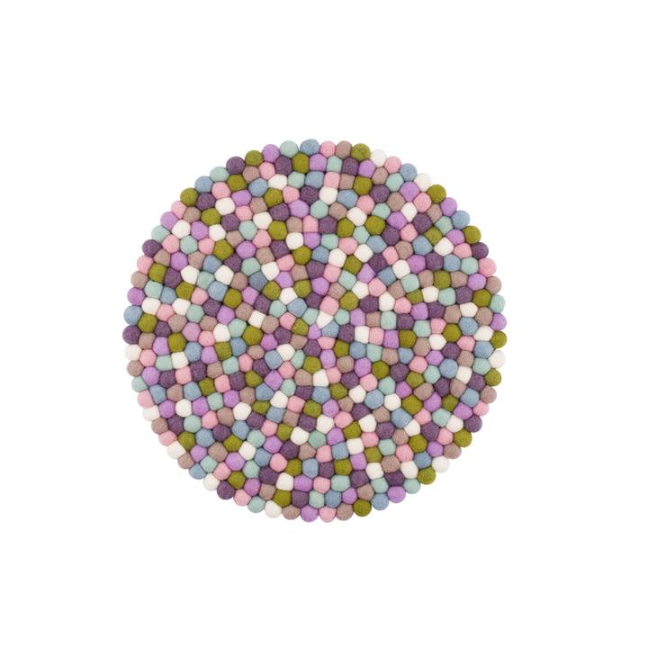 Housse de siège Greta Ø 36 cm de myfelt en pastel multicolore