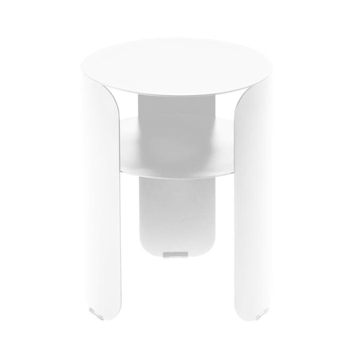 Table d'appoint Bebop Ø 35 cm, coton blanc par Fermob