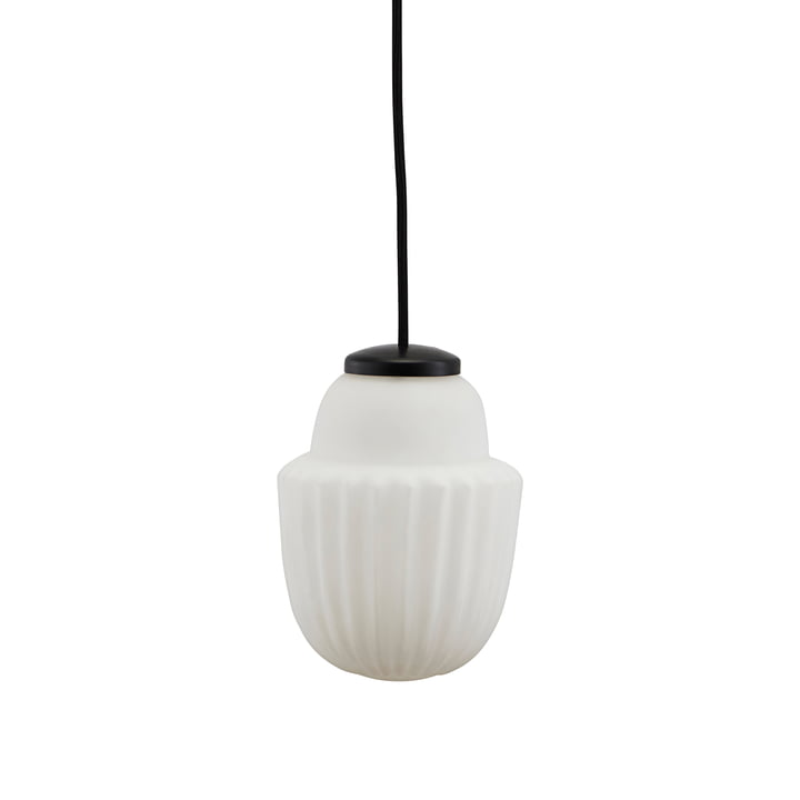 Acorn lampe à suspension Ø 13,5 x H 18,7 cm de House Doctor en blanc